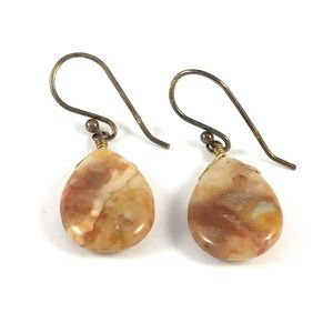 Stunning Sterling Silver 925 Gemstone Earrings
